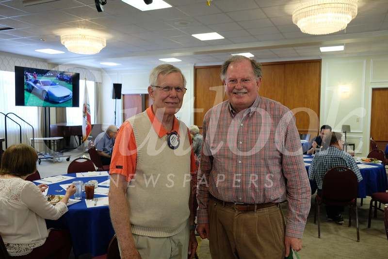 Dennis Kneier and Bob Houston