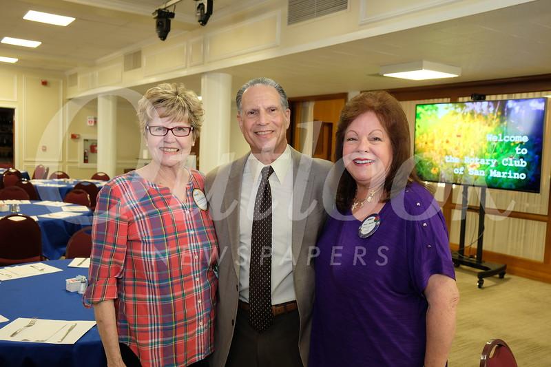 Sue Spence, Loren Kleinrock and Terry Petrillo