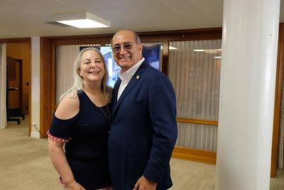 Nicole and Teddy Basseri