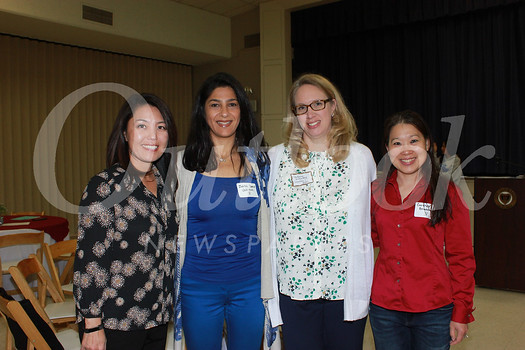 Jennifer Chuang, Zeina Daoud, Stefanie Killackey and Carolyn Broderick