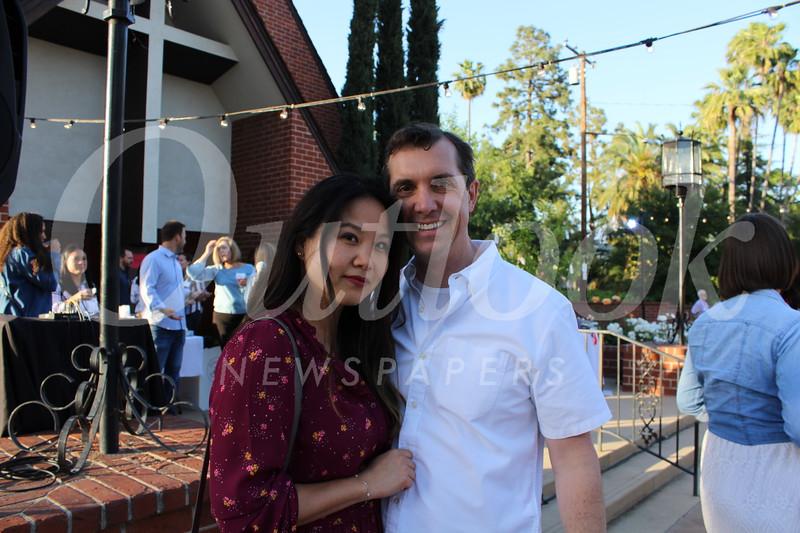 Sandra and Jeremy Shinkfield