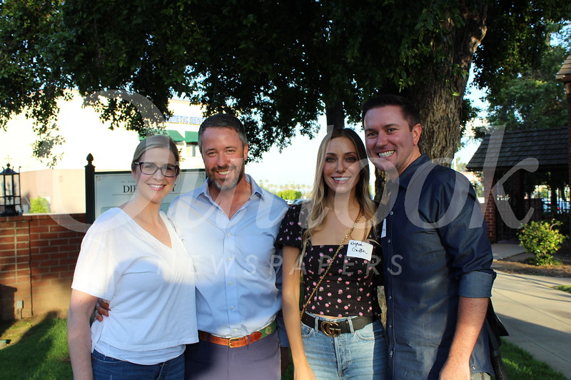Amy and Lancer Polverini with Kaytee and Griffith Dean