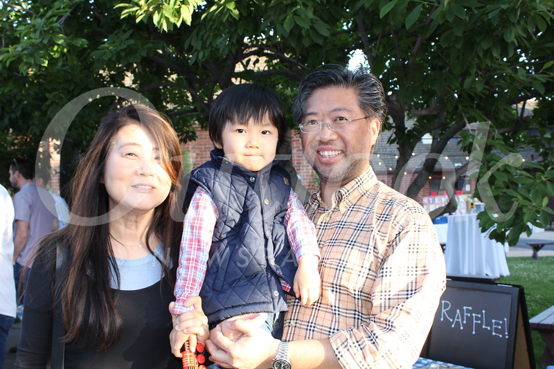 Melony Lee and John and Michael Leung