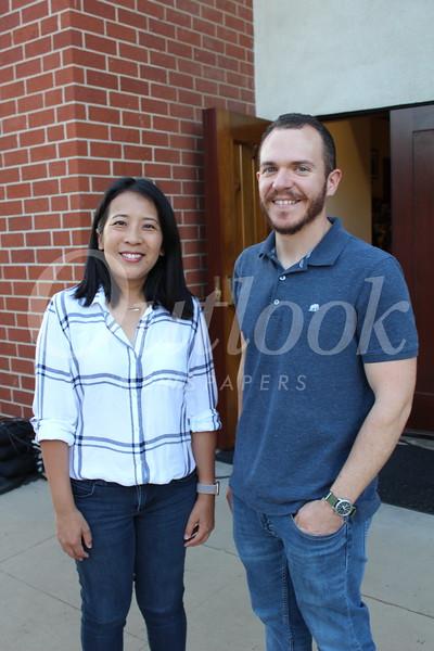 Jenny Kaw and Alex Davis