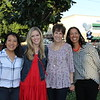 Board chair Jenny Kaw, Jill Lynn, Head of School Liz Westphal and Melissa Boozell