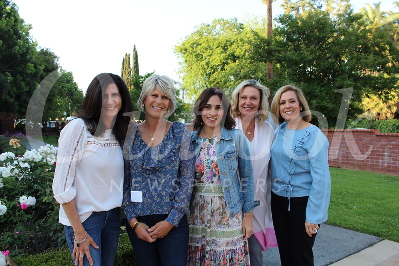 Teachers Angela Hopf, Cheryl Elffers, Erica Pegram, Carol Schraer and Sylvia Grimes