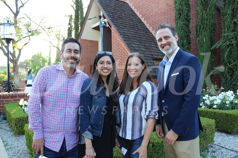 Paul and Marnie Rodriguez, Jessica Davis and Jeff Boozell