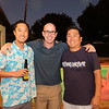 James Lin, Rich Anthony and Kyu Kang