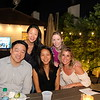 John Chow (front row, from left), Patty Sabo and Francesca Gill. Back: Jennifer Kang and Jenny Anthony.