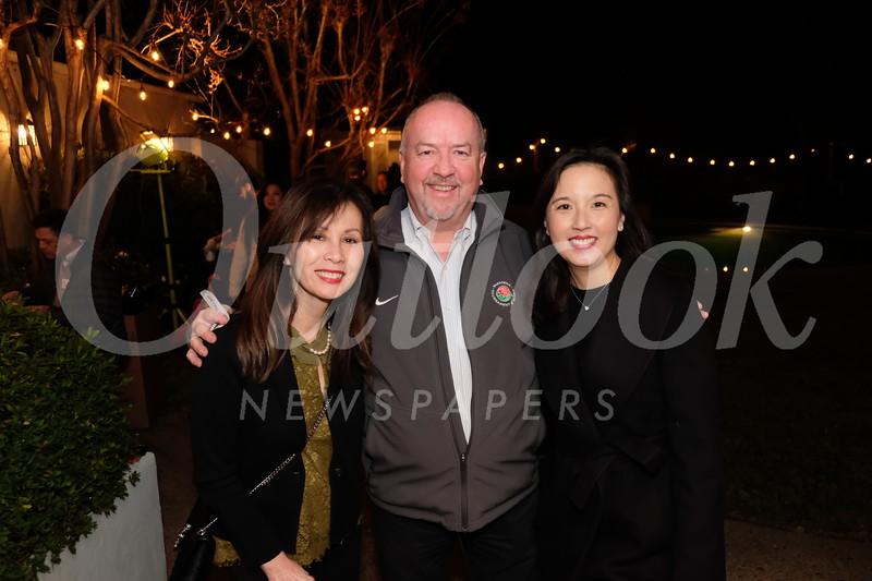 Liz Lichtman, Bob French and Yvonne Chen