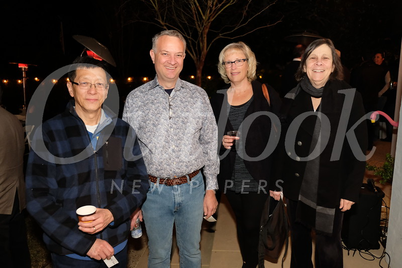 Mark Guan, Rob and Marlene Klusman, and Tina Weiss