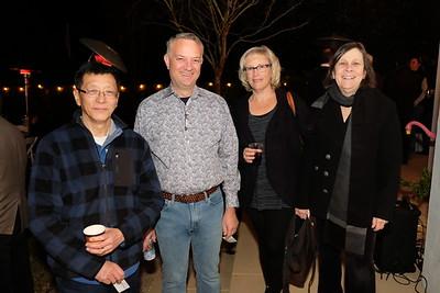 Mark Guan, Rob and Marlene Klusman, and Tina Weiss