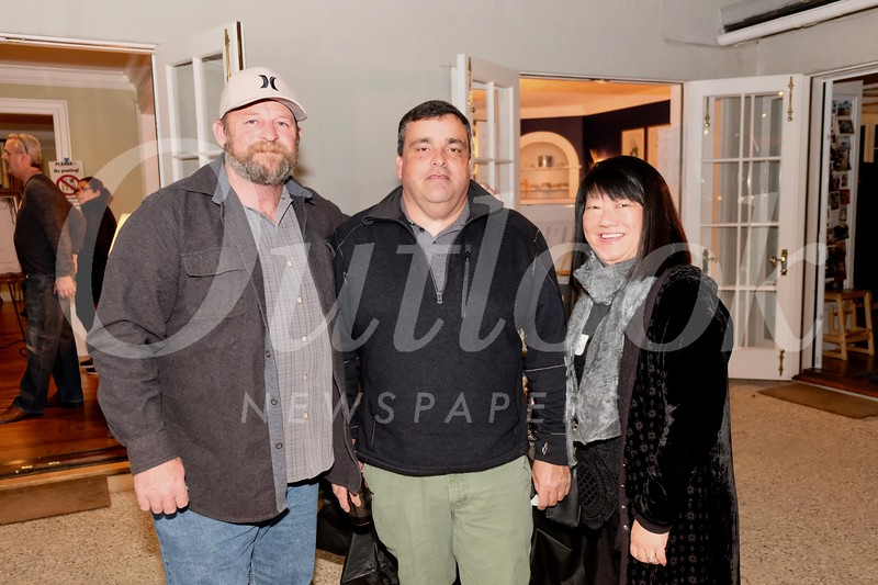 Jason DuNah with Todd and Mary Swanton