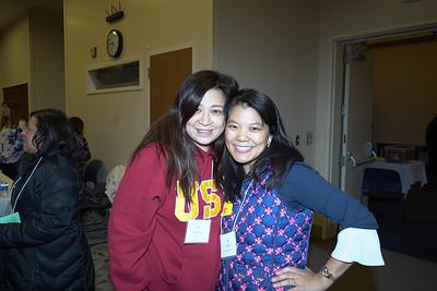 Sylvia Koh and Julie Lin