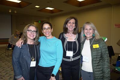 Lynette Sohl, Ana Raptis, Lynn Eriksen and Stephanie Moffat