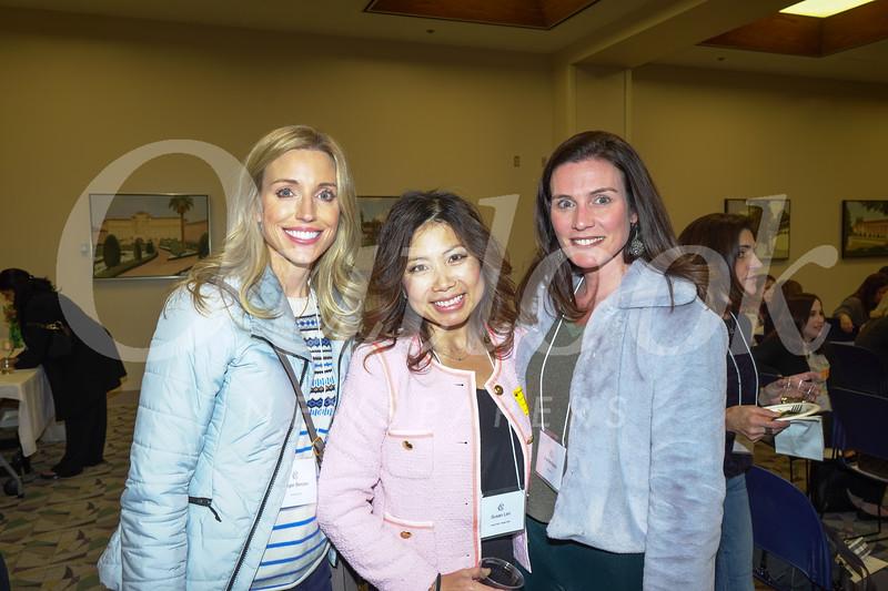 Ginger Bercaw, Susan Lim and Una Battaglia