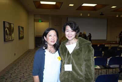 Christine Chin and Doris Cheung