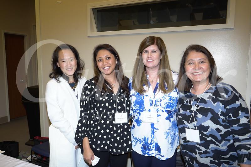 Jane Chon, Mariver Copeland, Lisa Begerow and Nancy Campana