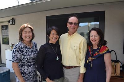 Janis Wong, Julie Wong Tam, and James and Kathleen Wallis