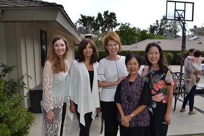Gina Baffo, Sonya Barba, Susan Gundell, and Katherine and Suzanne Lam