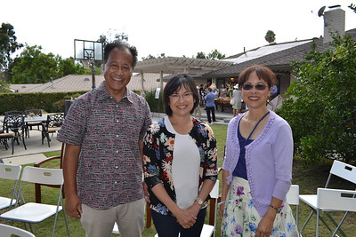David Omori, Lisa Wong and Leslie Wong