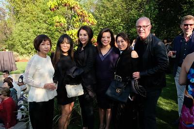 Ping Shih, Irene Kitamura, Maria Park, Christina Low, Linda Shen and Jeff Murray