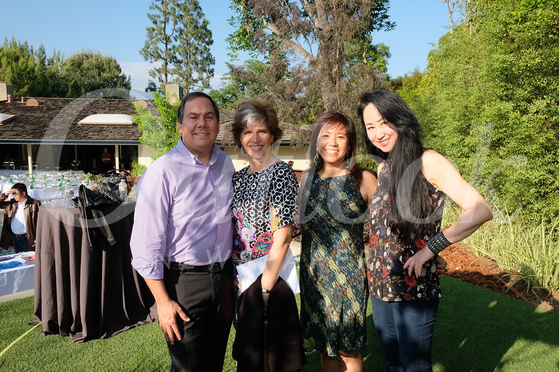 Mark and Jennifer Giles, Susan Malhotra and Kelly Yu