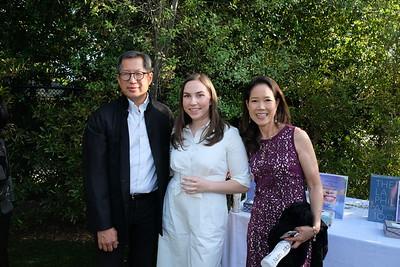 Robert Tam, Yasi Emamian and Suzanne Lam