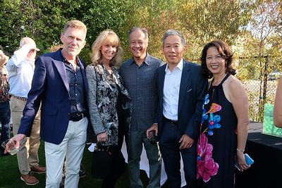 David and Cheryl Scheidemantle, David Omori, Frank Hu and Diane Lam