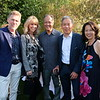 David and Cheryl Scheidemantle, David Omori, Frank Hu and Diane Lam