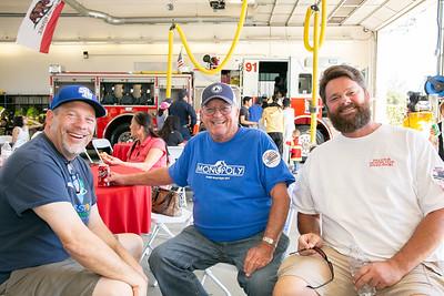John Dustin, Bob Horgan and Peter Manning