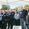 Cadet Mariah Felix, Officer Nia Hernandez, Cpl. Jeremy Bestpitch, Cadet Jocelyn Serrano, Cmdr. Aaron Blondé and Naved Qureshi
