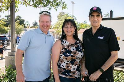 Scott Pilch, Marcella Marlowe and Joe Petrillo