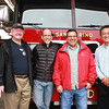 Public Safety commissioners Al Boegh, Pete Loeffler, Eugene Ramirez and Hunter Chang