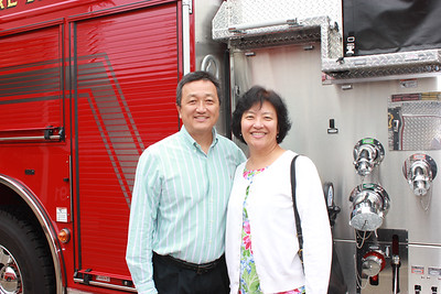 Hunter Chang and Annie Han