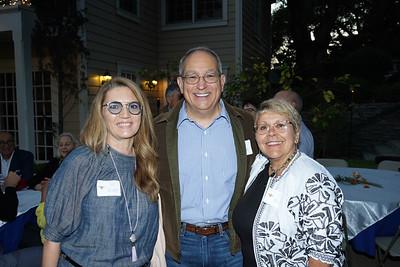 Fary Yassamy, Mike Driebe and Sylvia Mendoza