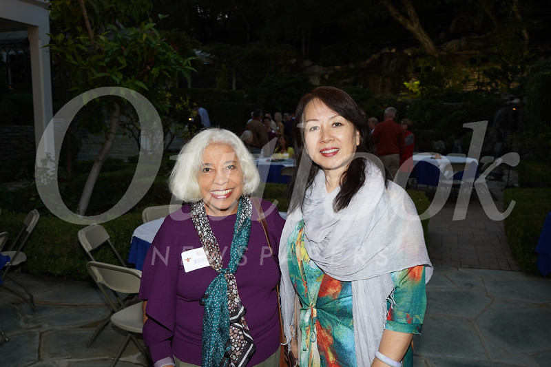 Molly Woodford and Kaili Chang
