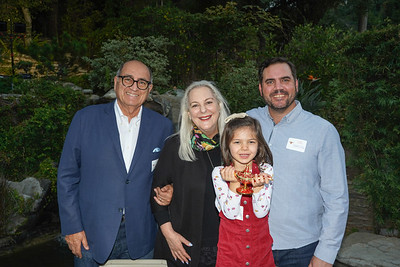 Teddy and Nicole Basseri with Lilly and Greg Johansing