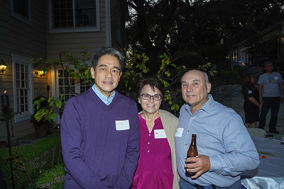 Andrew Ko with Ruth and Rick Politte