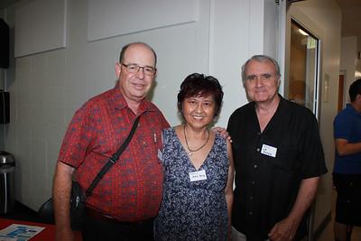 Andrew Kindler, Grace Yang and J P  Mainguy