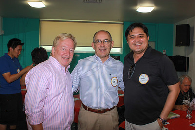 Darrell Brooke, Fred Sohl and Calvin Lo