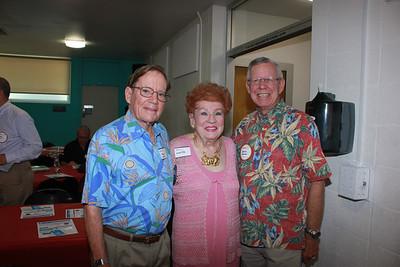 Wayne Carter, Lucille Norberg and Dennis Kneier