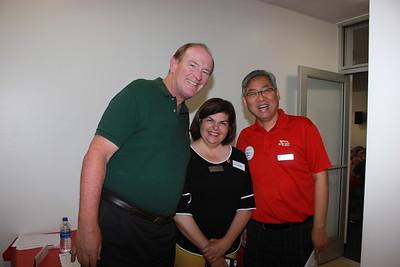Dan Floyd, Gilda Moshir and Shawn Chou