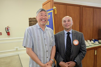 Rotary Club Meets Concertmaster