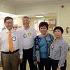 Dr. Hai-Sou Chen, Isaac Hung, Grace Yang and Evi Darmali
