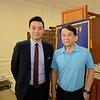 Ting Wang and San Marino Mayor Dr. Steven Huang