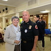Lois Matthews and Fire Chief Mario Rueda