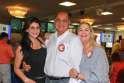 Ariana, Teddy and Nicole Basseri