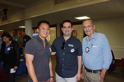 Chris Lee, Aaron Gil and Wray Cornwell