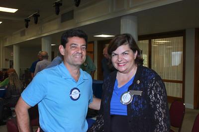 Daniel Maljanian and Gilda Moshir